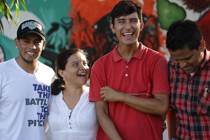 Des jeunes en Colombie. Photo FNUAP Colombie/Pandi