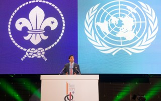 Ahmad Alhendawi 23rd World Scout Jamboree 5
