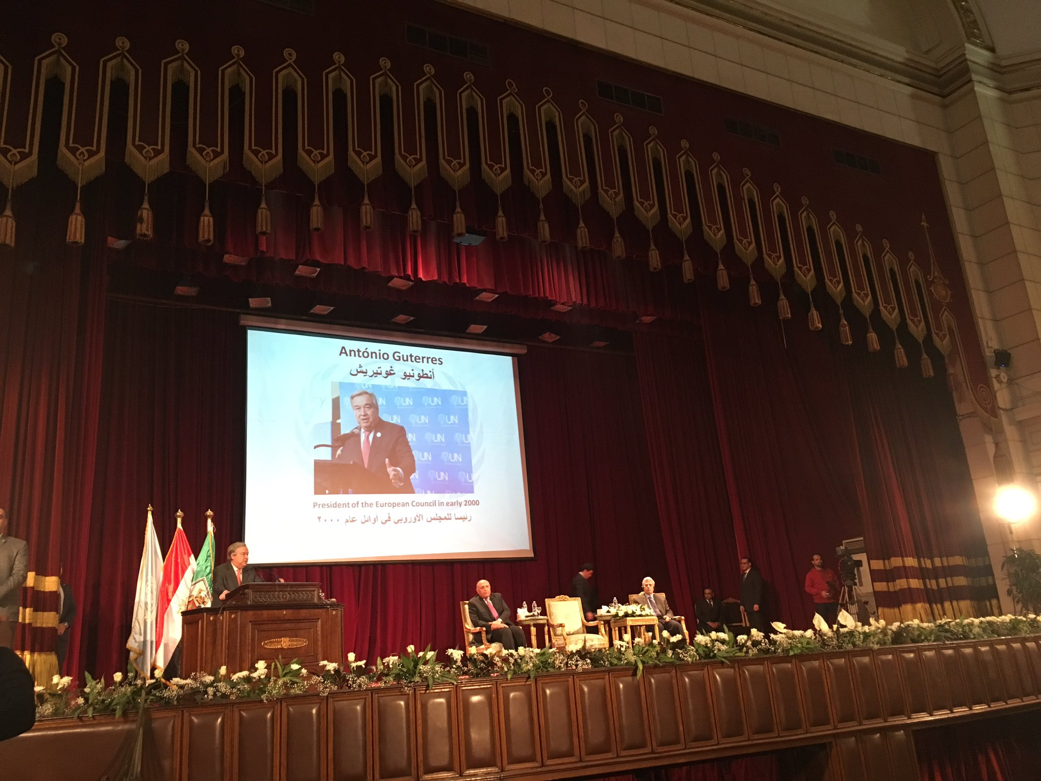 The Secretary General s Remarks at Cairo University. Speeches on Youth   Office of the Secretary General s Envoy on Youth
