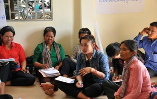 A pilot programme is working to stop the cycle of violence in Cambodia, where half of women and a quarter of men say wife beating can be justified. © UNFPA Cambodia/Sophanara Pen