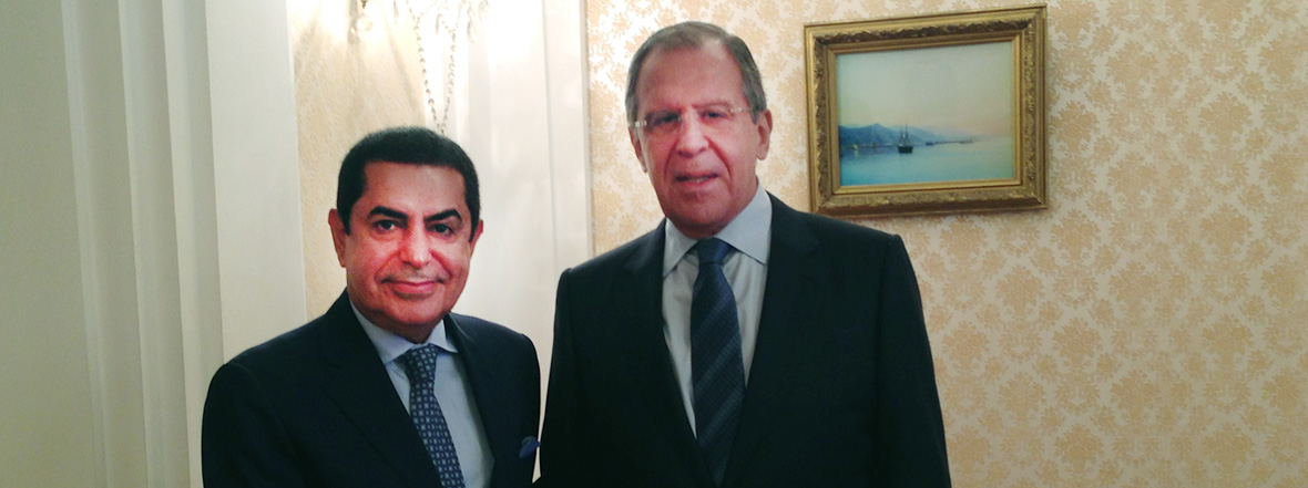 Press Statement on the Meeting of the UNAOC High Representative with Russian Foreign Minister Mr. Sergey Lavrov