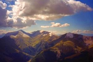 Gewitterwolken über den Sibillinen