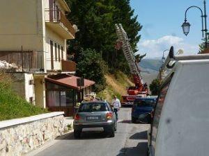 Räumungsarbeiten in Castelluccio
