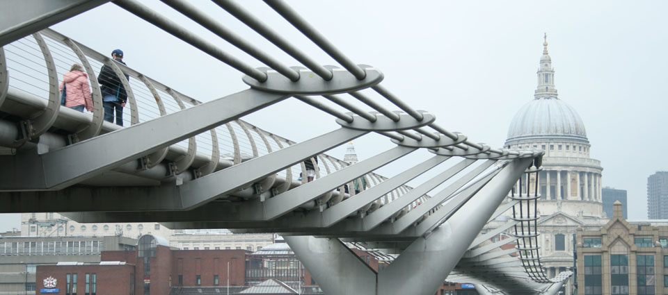 millennium bridge londres st paul