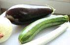 Berenjena cebolla calabacín y puerro pollo tikka masala foto estrella de pablo