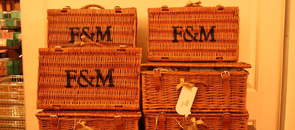 Fortnum & Mason Londres Cestas Picnic