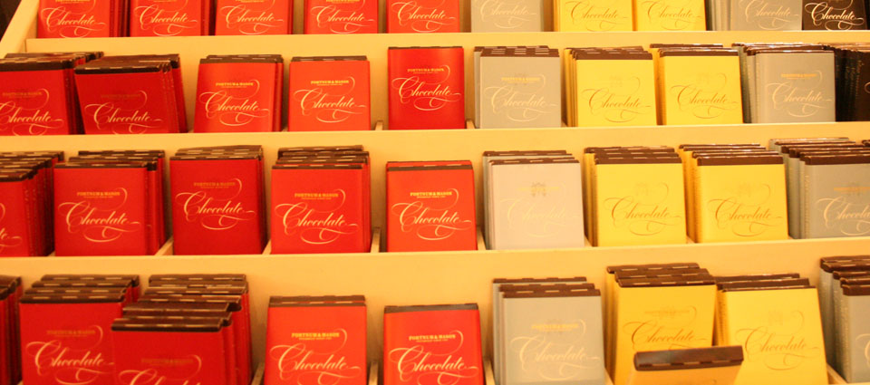 Fortnum & Mason Londres chocolate
