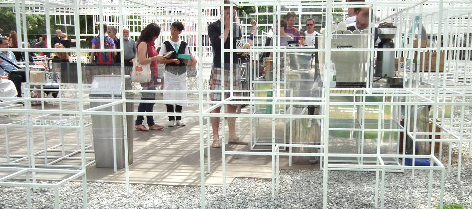 Serpentine Gallery Pavilion Sou Fujimoto camareros