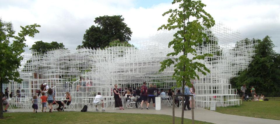 Serpentine Gallery Pavilion Sou Fujimoto exterior