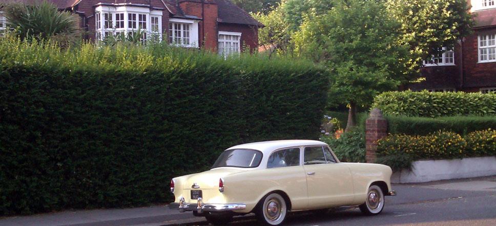 Belsize Park Londres coche en Ethon Avenue