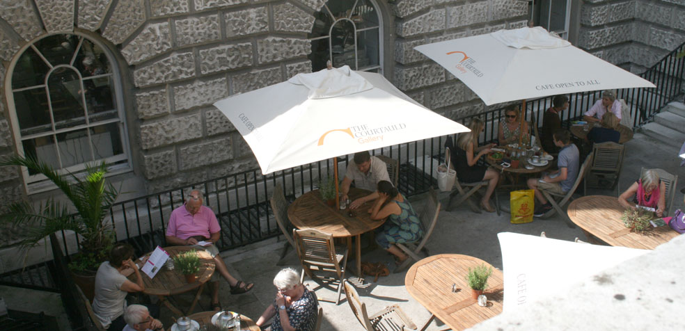 The Courtauld Gallery museo londres Terraza