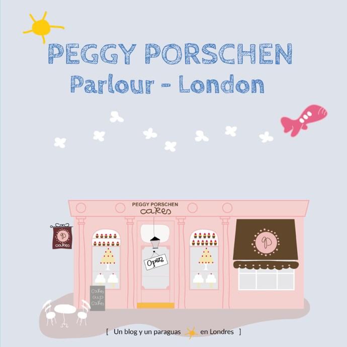 Peggy Porschen Londres Dibujo Ilustración