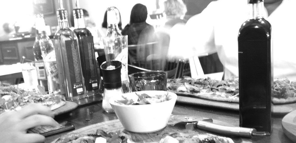 Festival de teatro de Edimburgo restaurante italiano