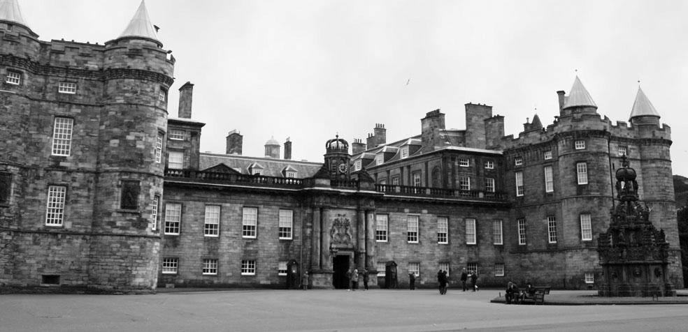 Festival de teatro de Edimburgo Holyrood Palace