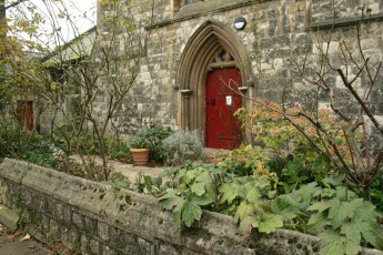 Londres en otoño iglesia