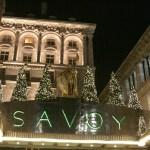 La entrada principal del Savoy