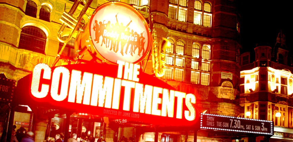 Musicales en Londres The Commitments