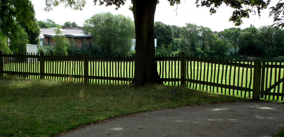 Hampstead Heath campo de Cricket