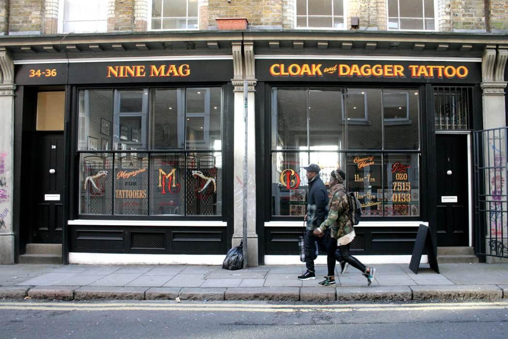 Londres más cool tienda