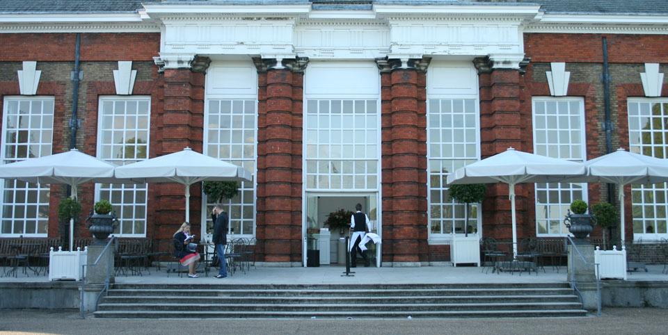 Patinar por Hyde Park The Orangerie