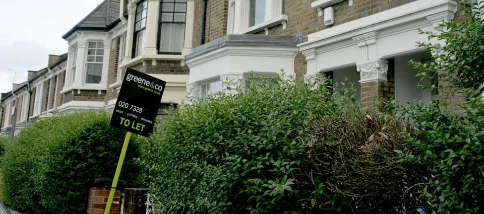 Vivir en Queen's Park cartel alquiler