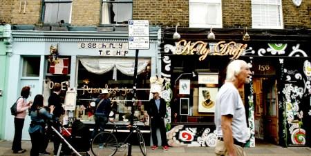 El mercado de las flores de Londres