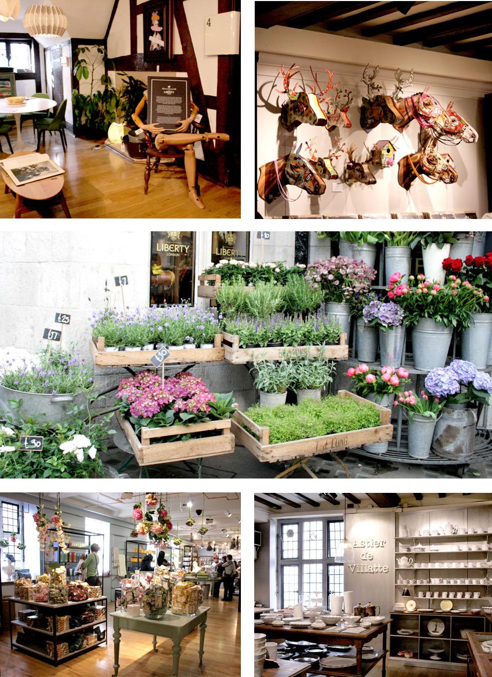 Tiendas de decoración de Londres Liberty Londres