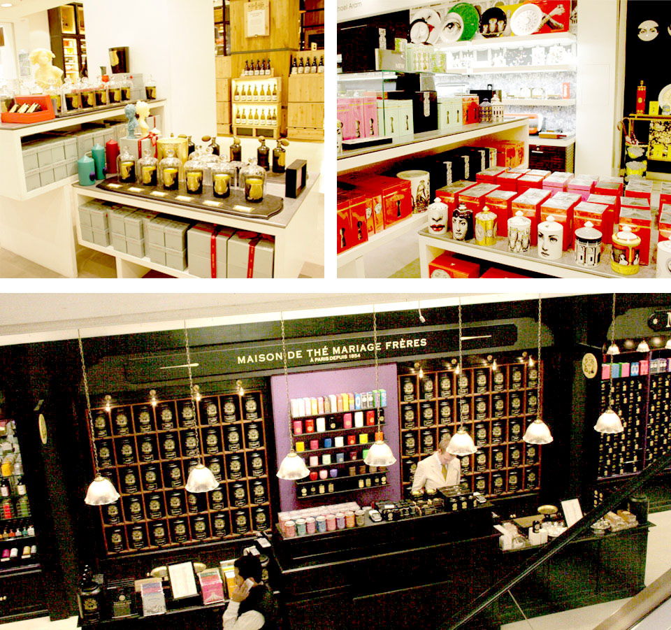 Tiendas de decoración de Londres Selfridges Planta LG