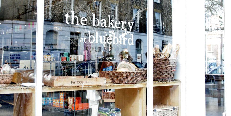Tiendas de decoración de Londres The bakery at bluebird
