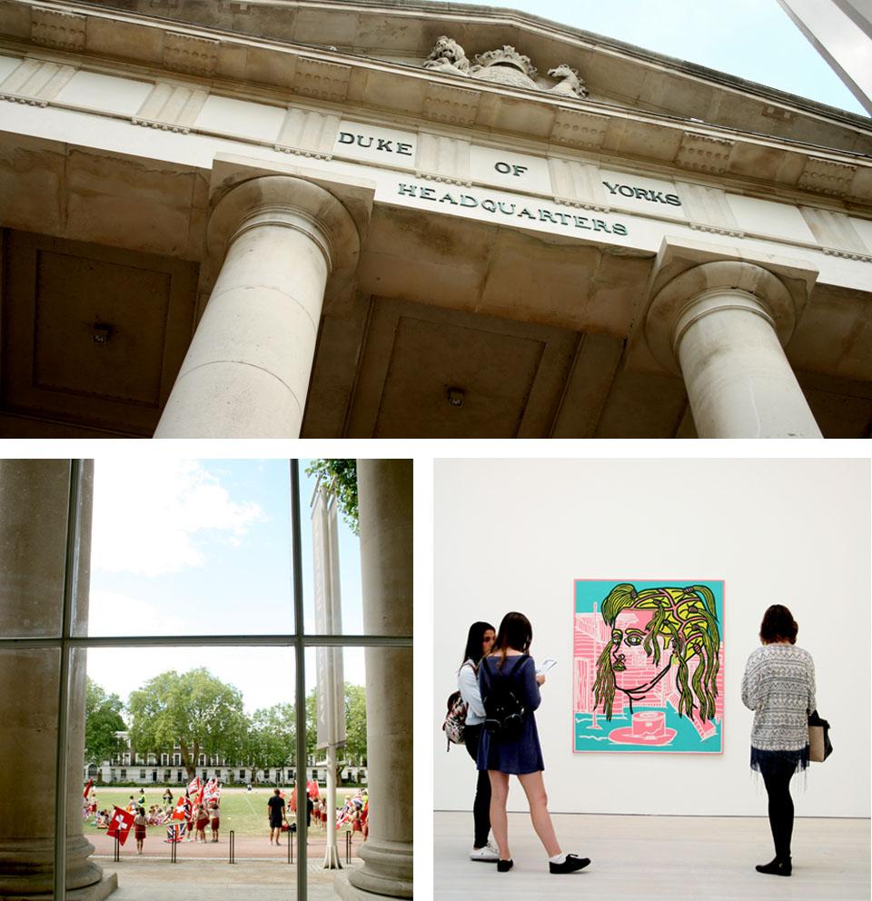 Saatchi gallery de Londres