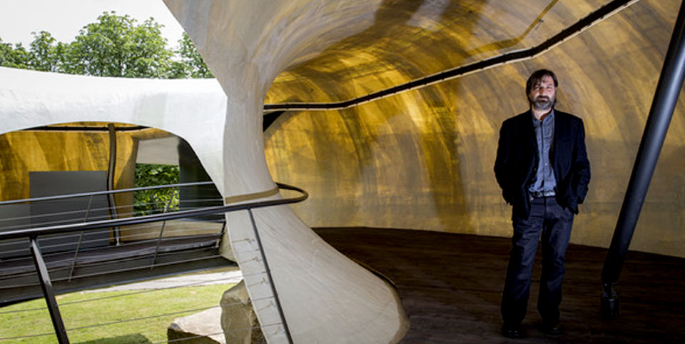 Serpentine Pavillion de 2014 Smiljan Radic