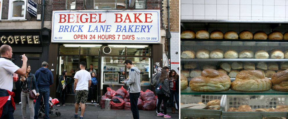 Mercadillo de Brick Lane Beigel Bake