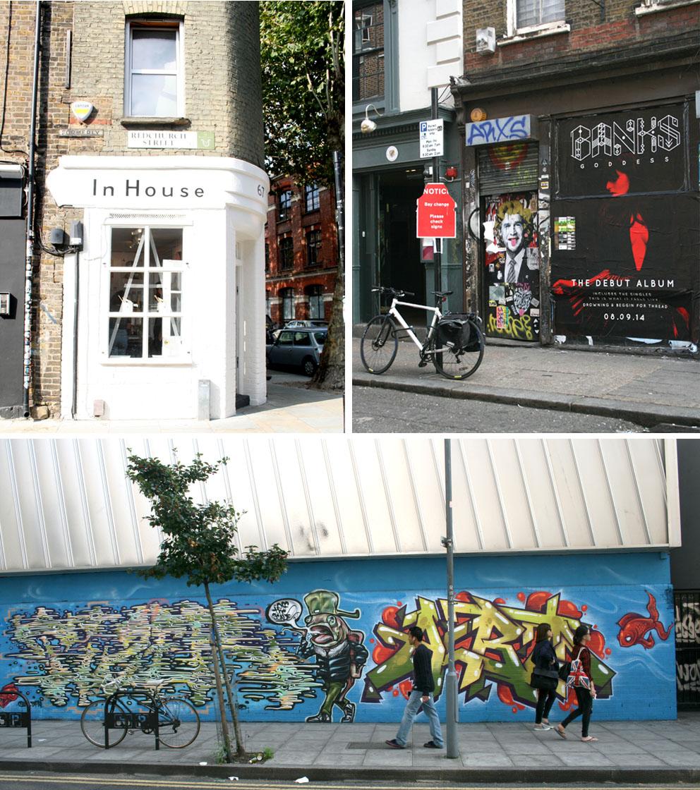 Lo más interesante de Shoreditch Arte Urbano