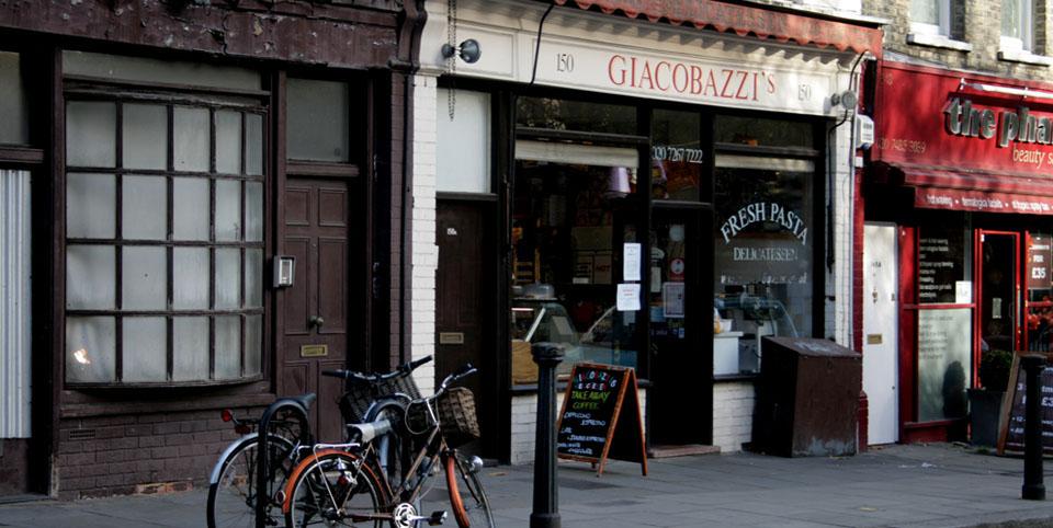 Barrios bonitos de Londres giacobbazi's
