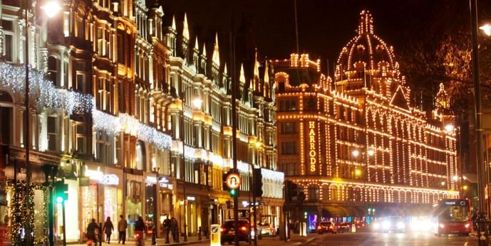 Londres en Navidad