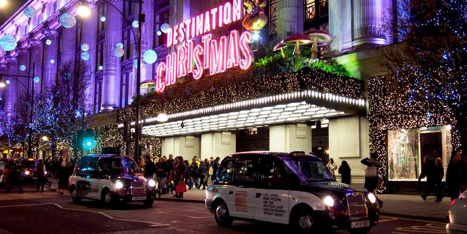 Dónde comprar decoración de Navidad en Londres Selfridges