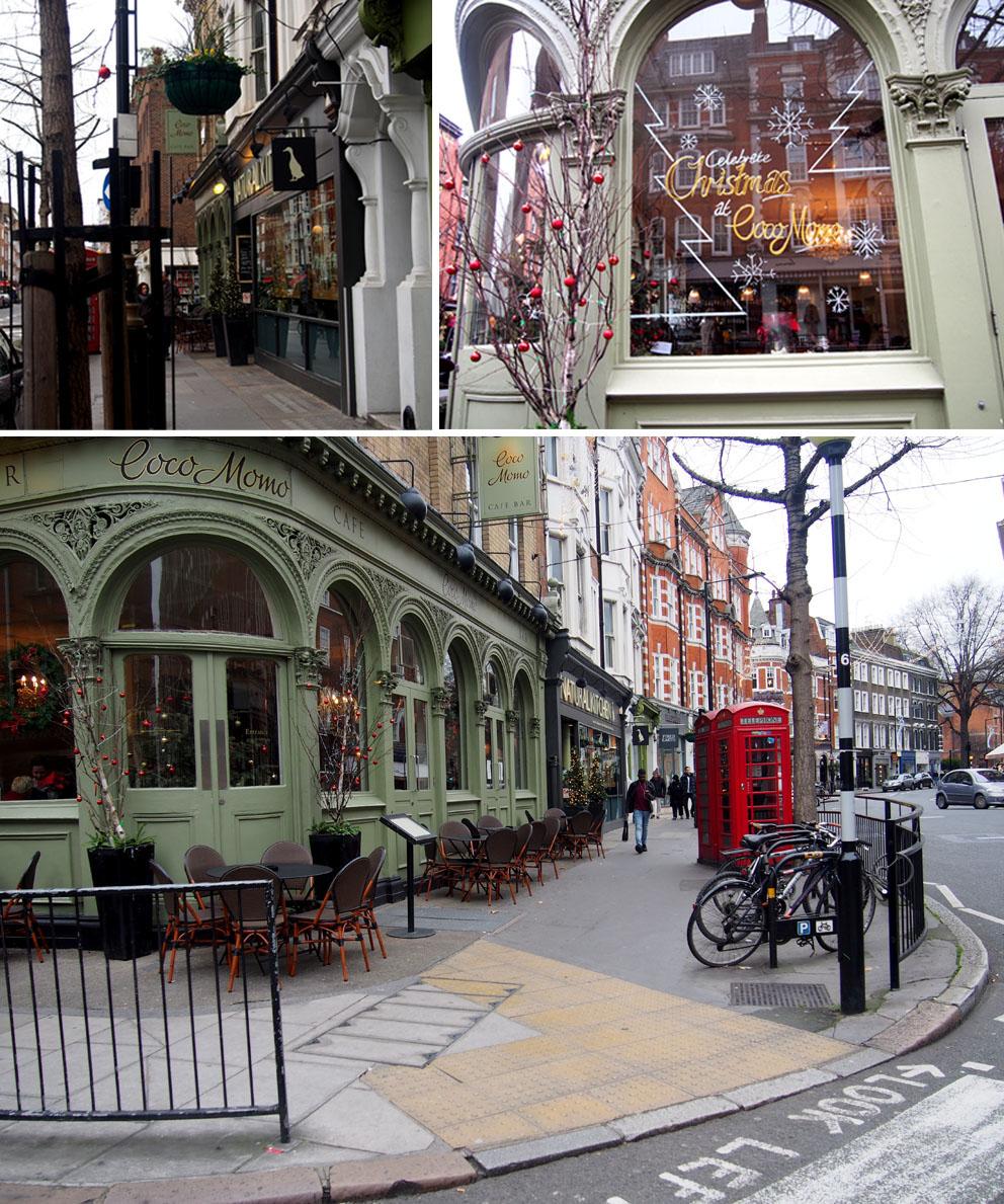 Tiendas en Marylebone Londres Coco Momo