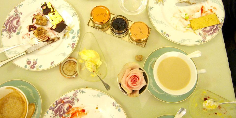 Donde tomar el afternoon tea en Londres té