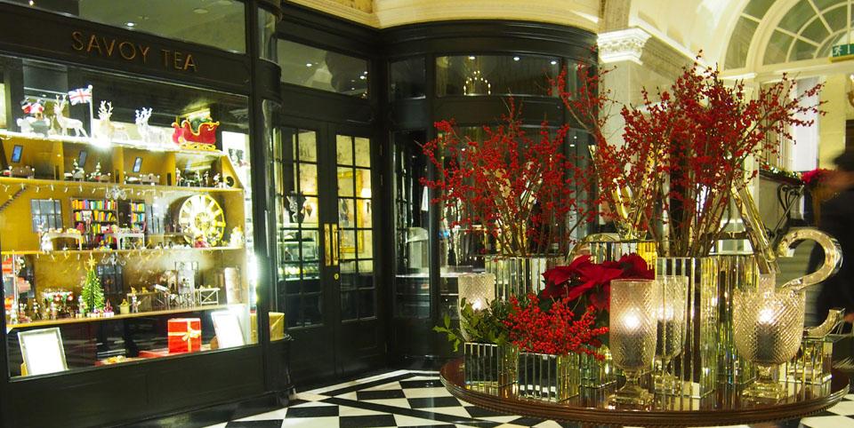 Donde tomar el afternoon tea en Londres Hall Savoy