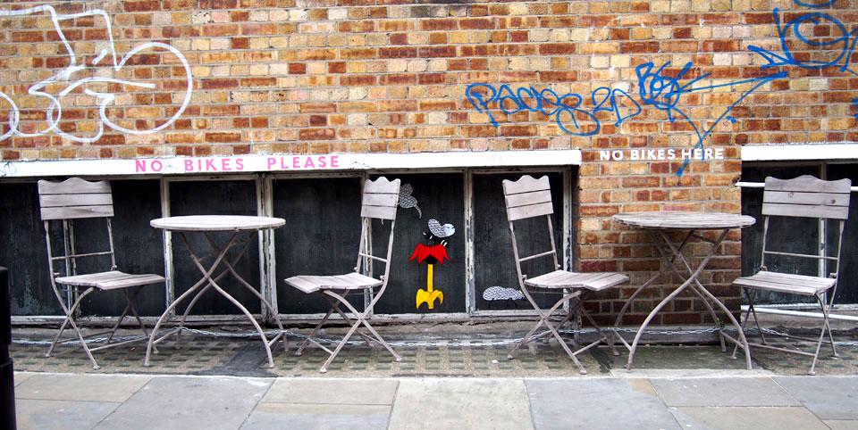 Qué ver en Shoreditch terraza Barber Parlor