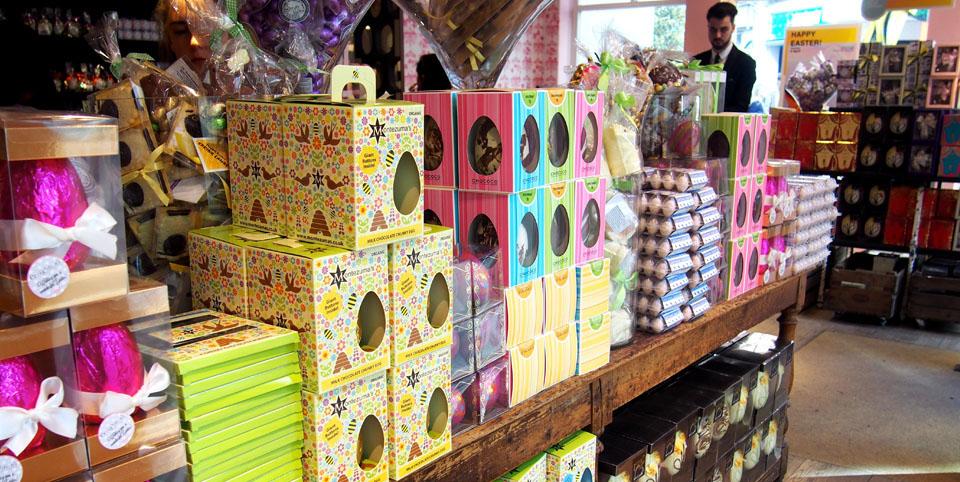 Donde comprar huevos de Pascua en Londres Liberty