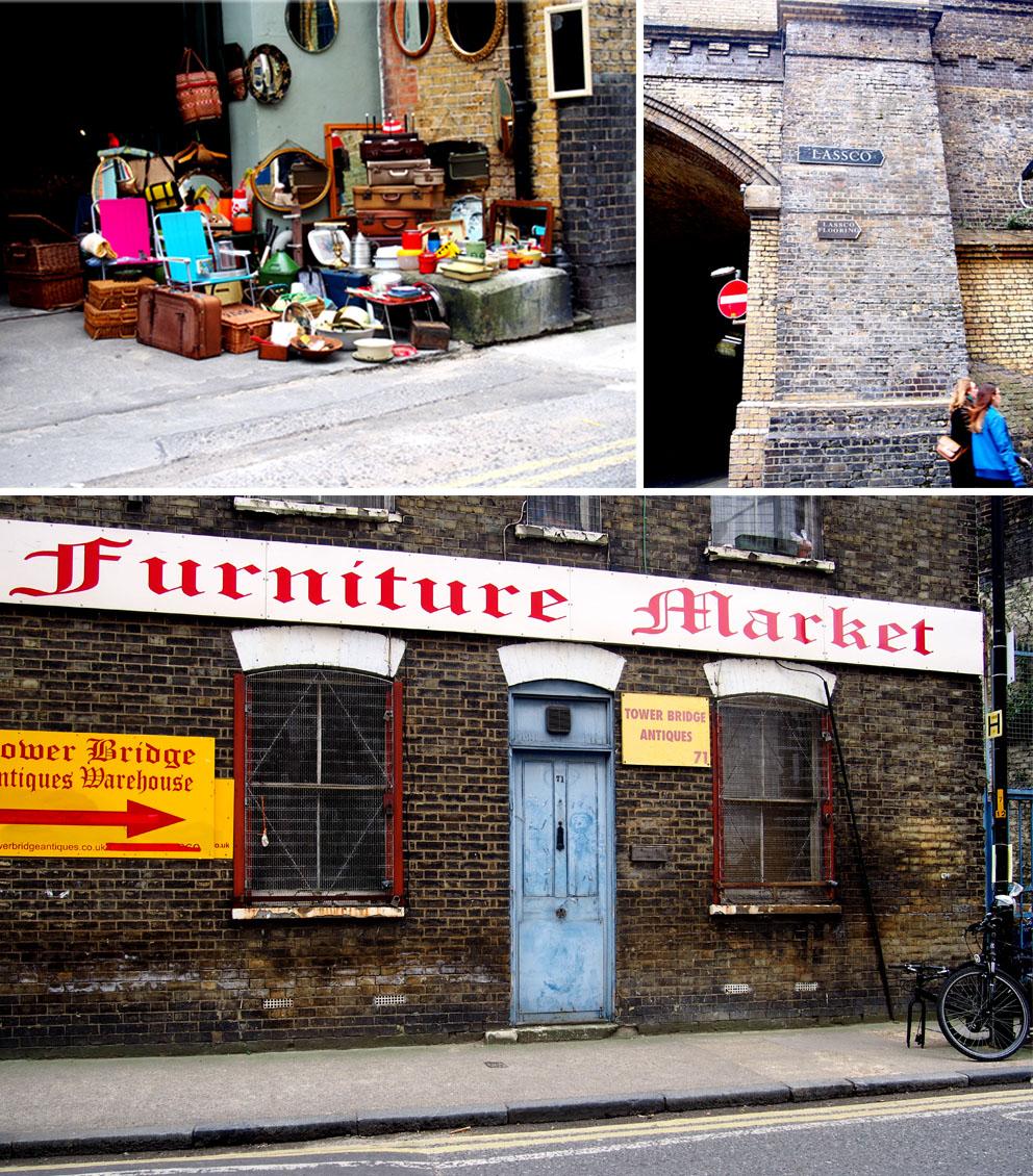 Maltby Street Market en Ropewalk Mercadillo