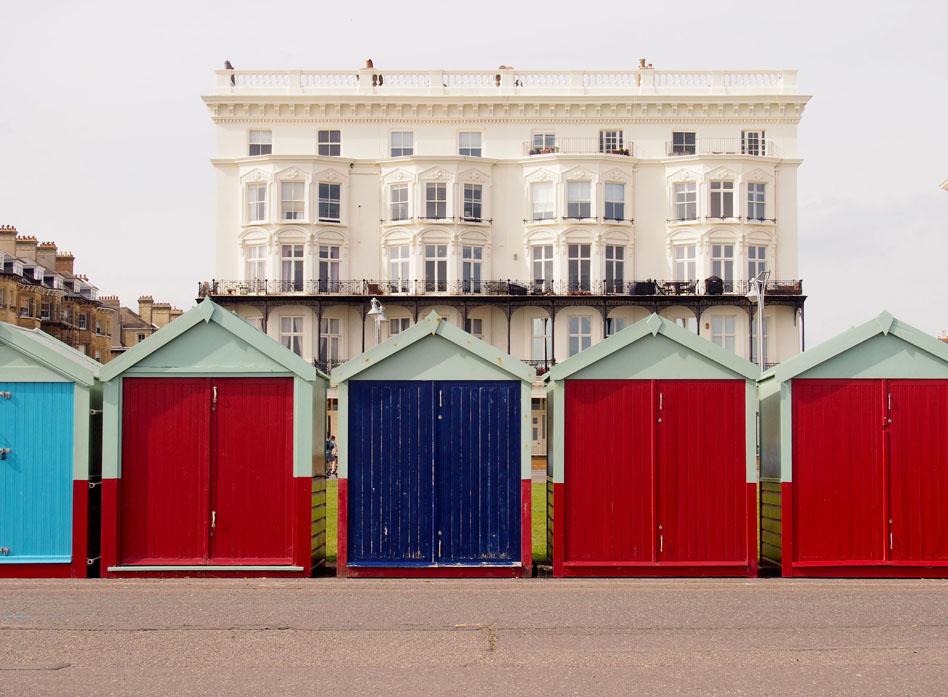 Brighton 12 cosas que puedes hacer casetas de colores