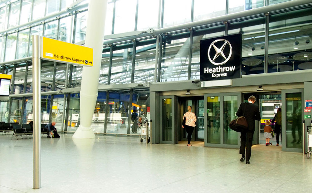 Cómo ir de Heathrow a Londres en transporte público express