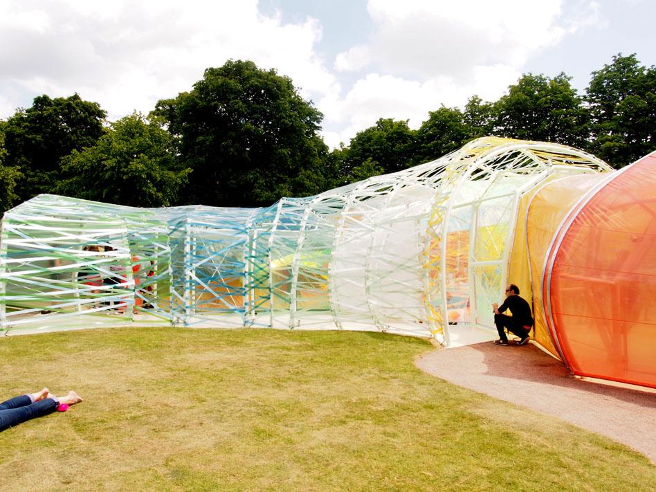 Serpentine Pavilion de 2015 detalle