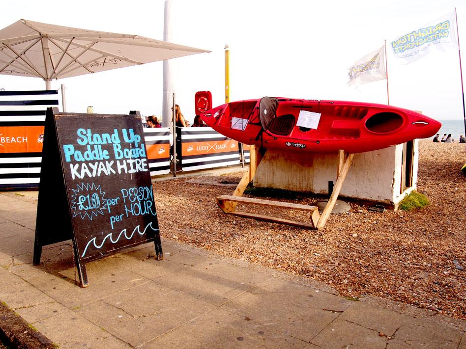 Brighton 12 cosas que puedes hacer kayak