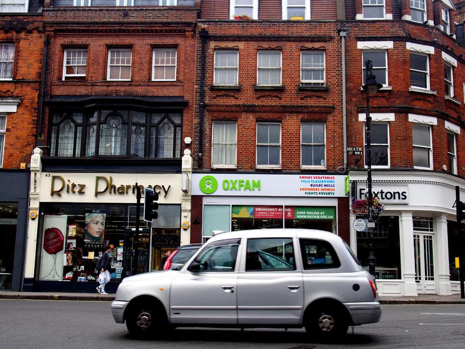 Las mejores librerías de Londres Oxfam