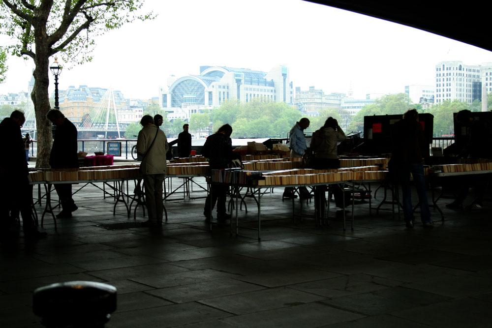 Las mejores librerías de Londres Southbank Book MArket