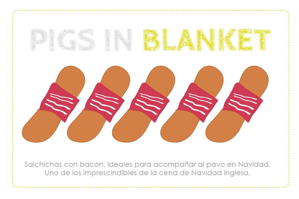 Pigs in blanket dibujo-01