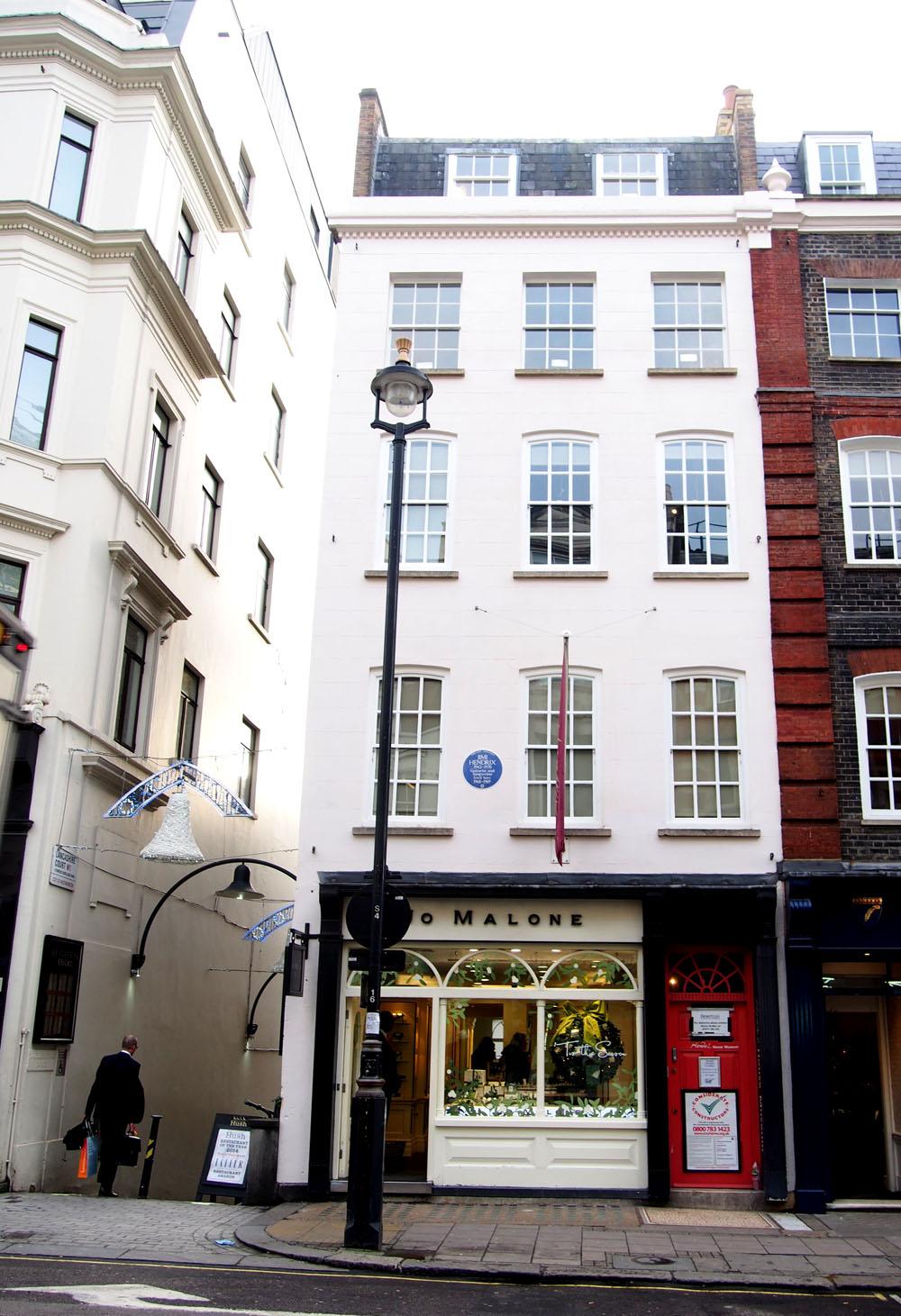 11 puntos ideales de Mayfair Casa de Haendel